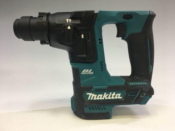 M504-31/KR12000 マキタ Makita 充電式ハンマドリル HR166D 16㎜ ハードケース付 ★中古良品_画像2