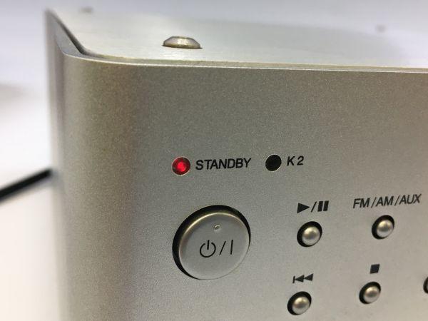 M504-17/HK10000 ビクター Victor コンパクトコンポーネントDVDシステム CA-EXAK1 +スピーカーペアセット リモコン付★中古  _画像9