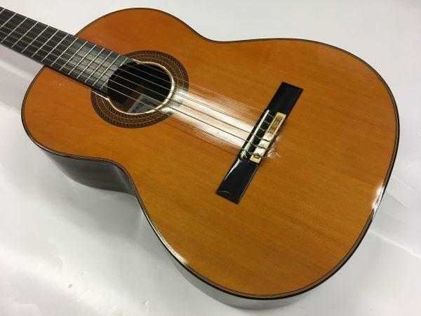 M504-8/SS8000 小平 クラシックギター ARTIST No.A ST 50 L Hand-Crafted Folk KODAIRA 《ハードケース付》 中古_画像4