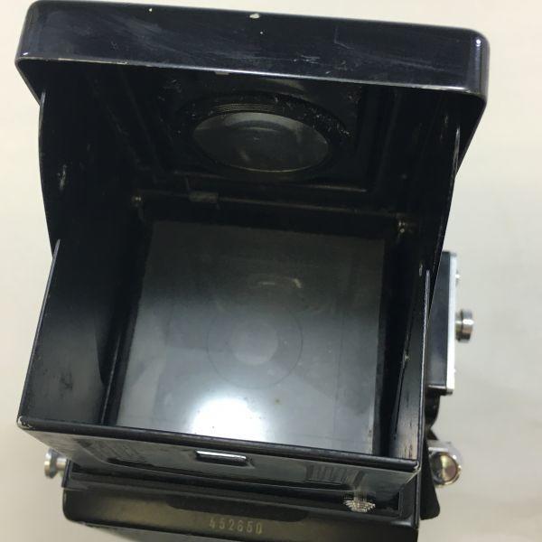 M504-47/SY3000 ミノルタ MINOLTA AUTOCORD cds オートコードⅢ ROKKOR 1:3.5 f=75mm 《ケース付》★中古カメラ ニ眼_画像5