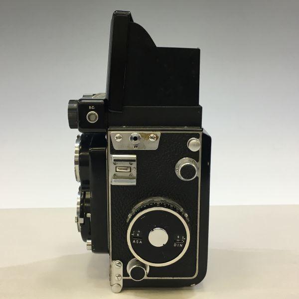 M504-47/SY3000 ミノルタ MINOLTA AUTOCORD cds オートコードⅢ ROKKOR 1:3.5 f=75mm 《ケース付》★中古カメラ ニ眼_画像2