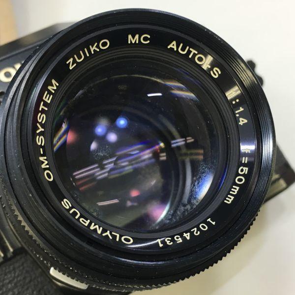 M504-41/SY3000 オリンパス OLYMPUS OM10 ZUIKO MC AUTO-S f=50mm 1:1.4 ★中古カメラ _画像7