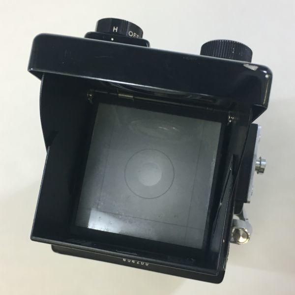 M504-35/SY3000 ミノルタ MINOLTA オートコードⅢ AUTOCORD ROKKOR 1:3.5 f=75mm 《ケース付》★中古カメラ ニ眼_画像5