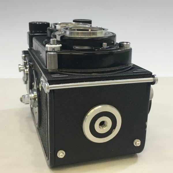 M504-35/SY3000 ミノルタ MINOLTA オートコードⅢ AUTOCORD ROKKOR 1:3.5 f=75mm 《ケース付》★中古カメラ ニ眼_画像6