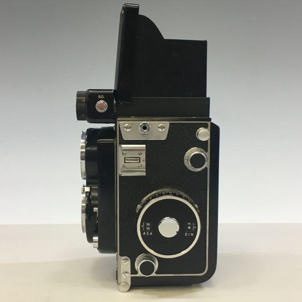 M504-35/SY3000 ミノルタ MINOLTA オートコードⅢ AUTOCORD ROKKOR 1:3.5 f=75mm 《ケース付》★中古カメラ ニ眼_画像3