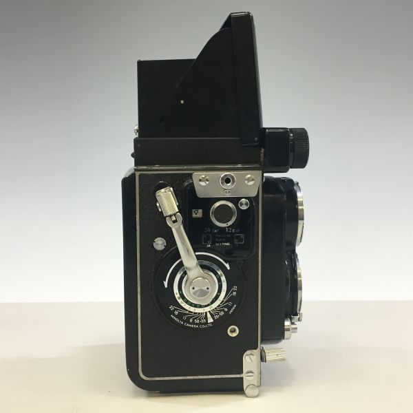 M504-35/SY3000 ミノルタ MINOLTA オートコードⅢ AUTOCORD ROKKOR 1:3.5 f=75mm 《ケース付》★中古カメラ ニ眼_画像4