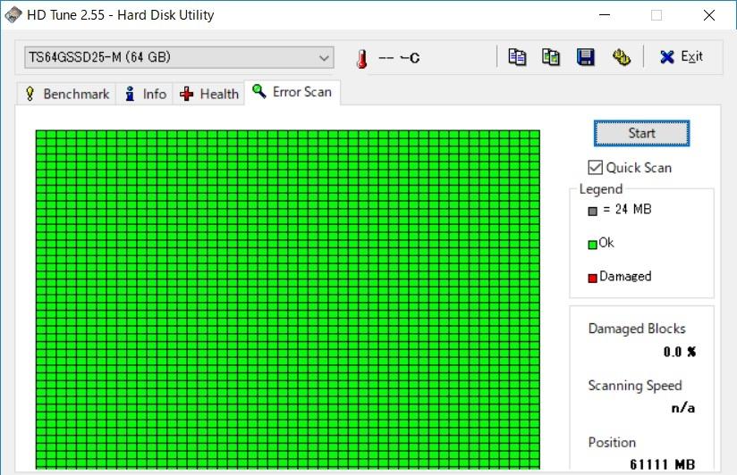 希少?IDE接続 Transend 2.5インチ SSD TS64GSSD25-M_画像5