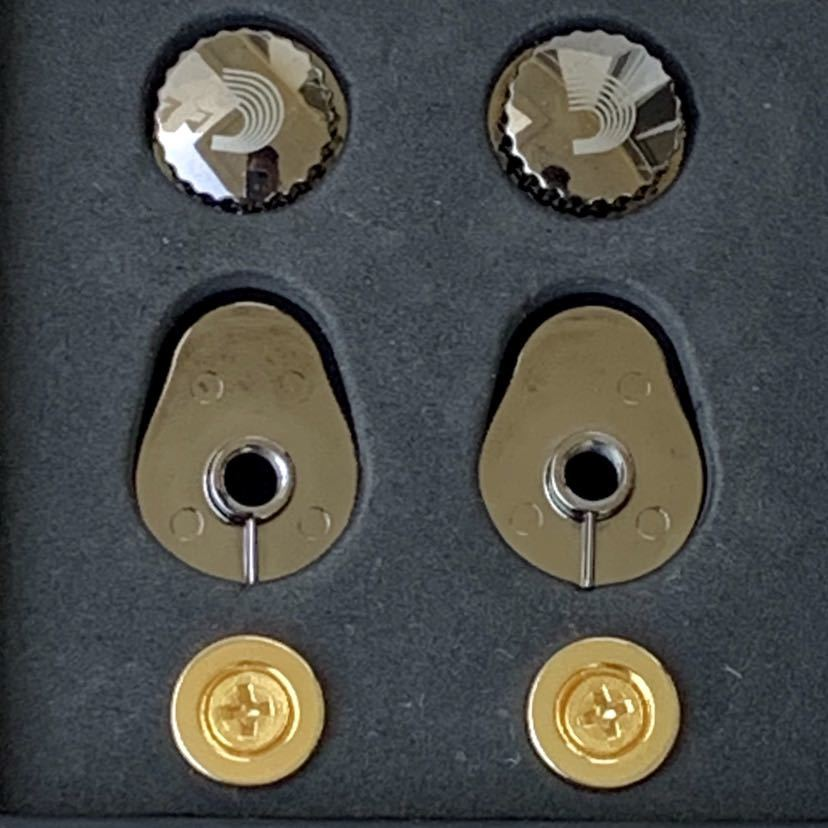 D'Addario ダダリオ ストラップロック Universal Strap Locks ゴールド_画像3