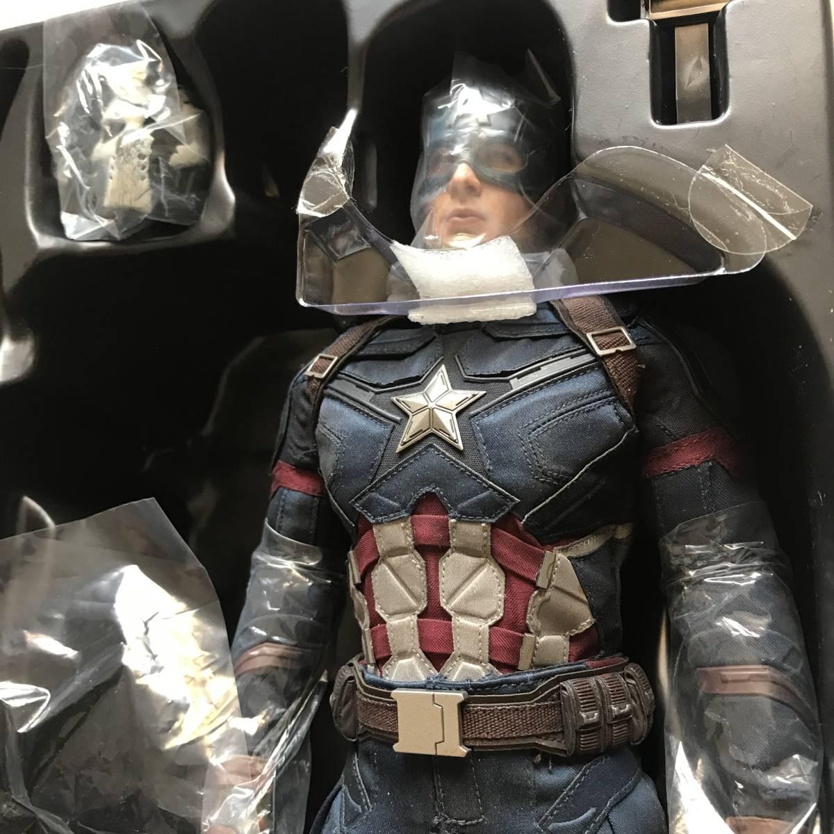 未展示 ホットトイズ キャプテン・アメリカ シビルウォー ヨドバシカメラ限定版 バトル版 アイアンマン_画像5