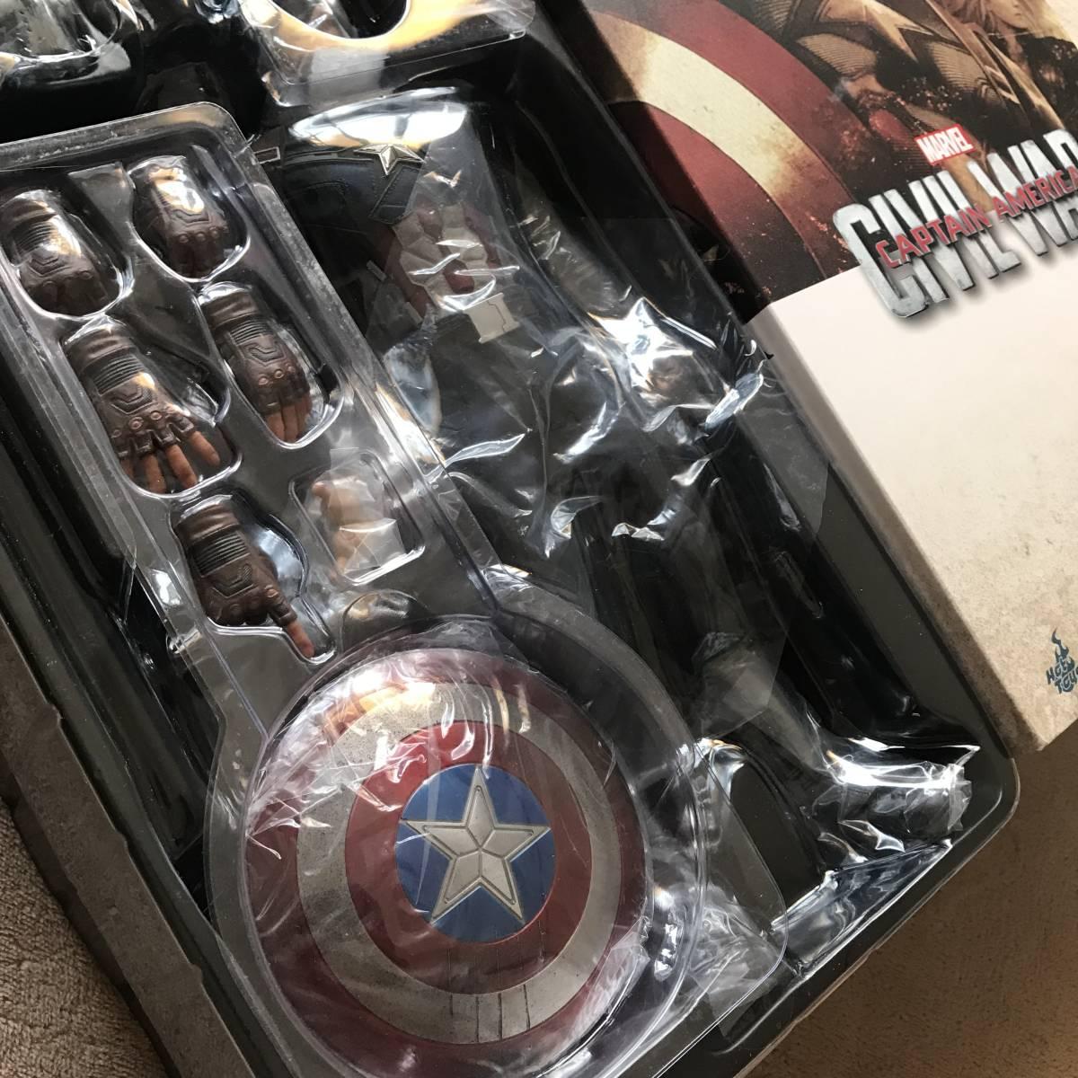 未展示 ホットトイズ キャプテン・アメリカ シビルウォー ヨドバシカメラ限定版 バトル版 アイアンマン_画像2
