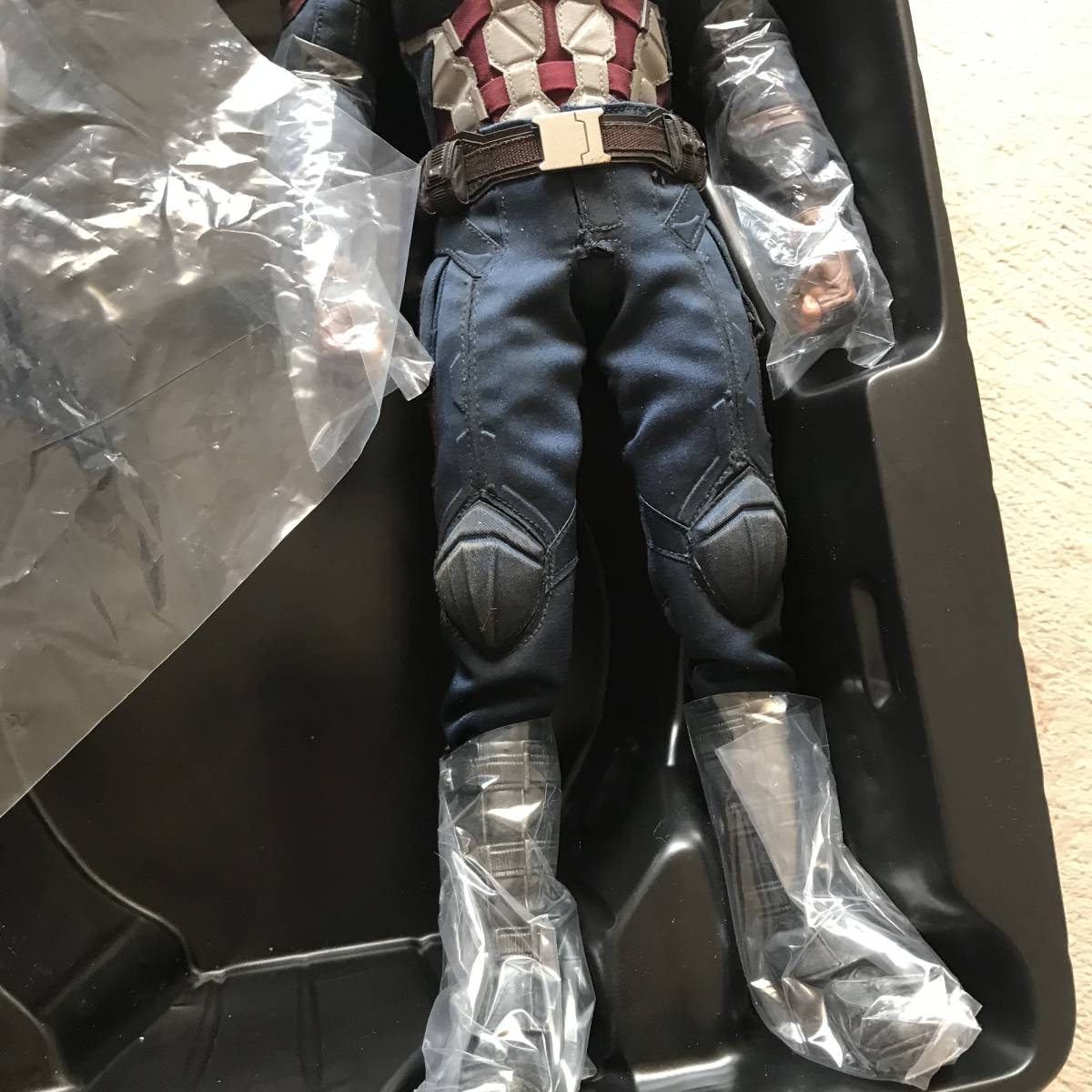 未展示 ホットトイズ キャプテン・アメリカ シビルウォー ヨドバシカメラ限定版 バトル版 アイアンマン_画像4