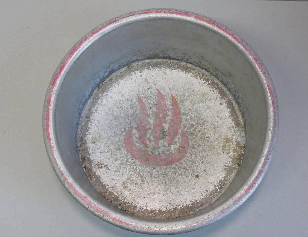 4] Showa era 30 period ~ business! public . place [ pine bamboo hot water ] sen hot water aluminium bath . face washing vessel hot water . antique retro antique goods
