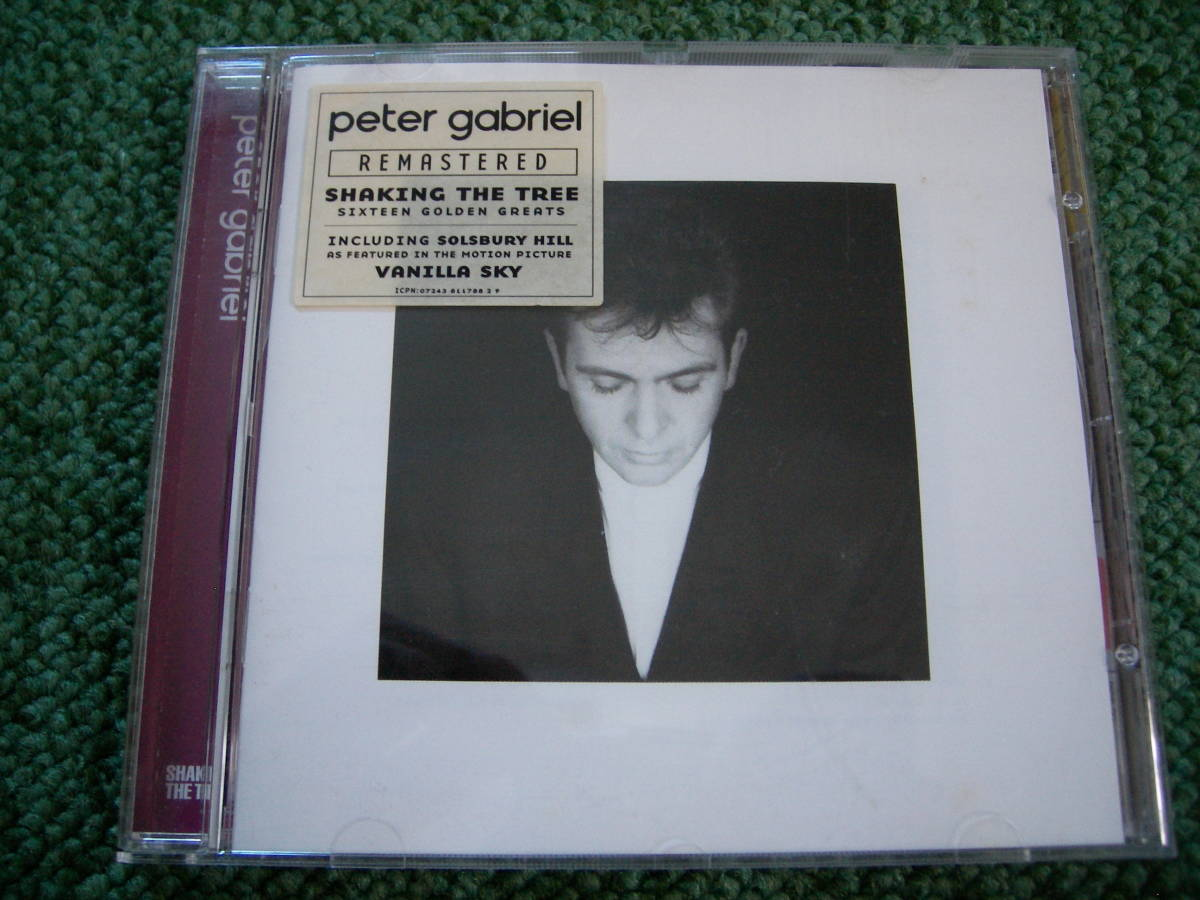 【ベスト盤】PETER GABRIEL ☆ Shaking The Tree Sixteen Golden Greats 輸入盤 EU Virgin CD リマスター _画像1