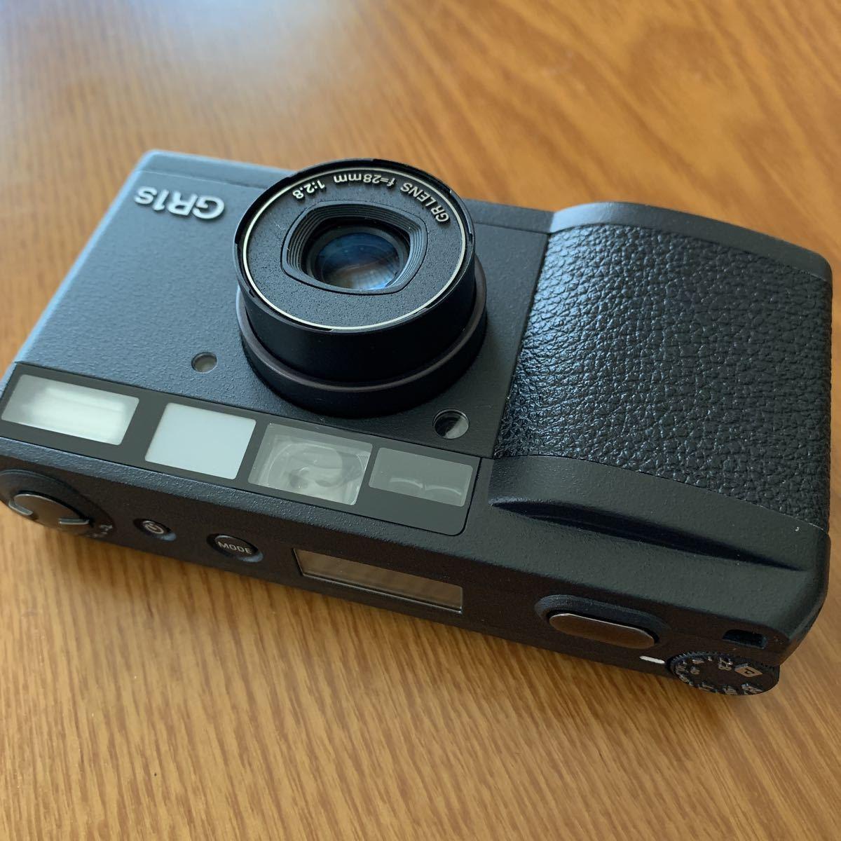 リコー Ricoh フィルム コンパクトカメラ GR1s 中古美品_画像4