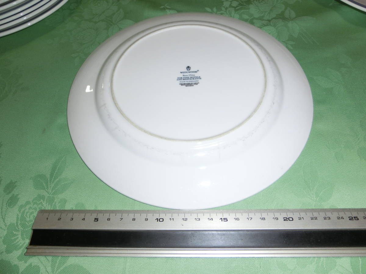 Y100 Wedgwood WEDGWOOD plate 10 pieces set USED last exhibition!