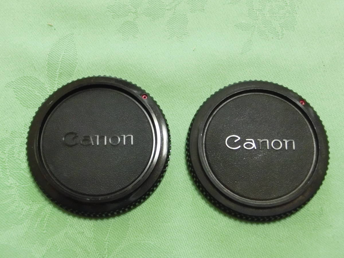 JT-T50-C167 Canon CANON original manual for body cap 2 piece set outside fixed form ~50g shipping!