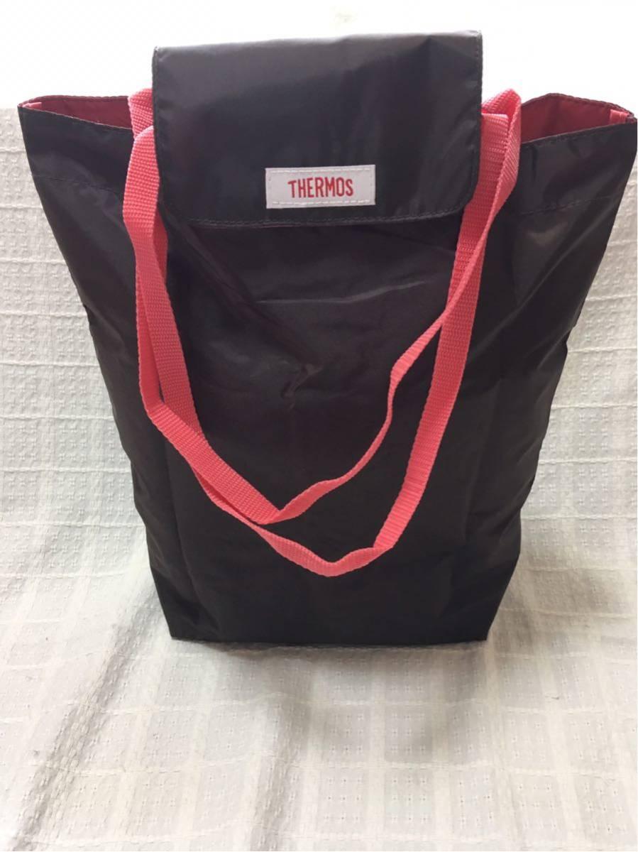 【サーモス:THERMOS】保冷ショッピングバッグ・色:ブラウン、送料:クリックポスト185円