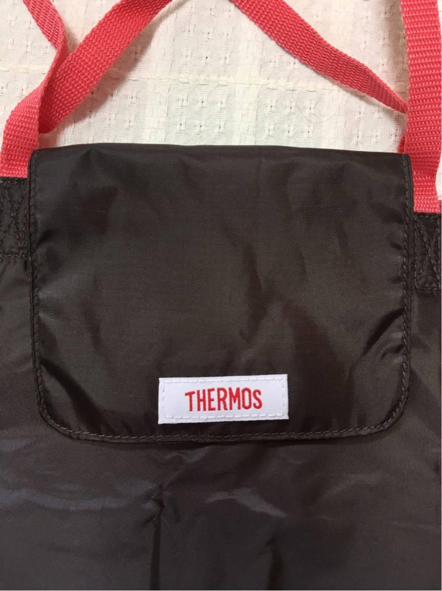【サーモス:THERMOS】保冷ショッピングバッグ・色:ブラウン、送料:クリックポスト185円_画像4