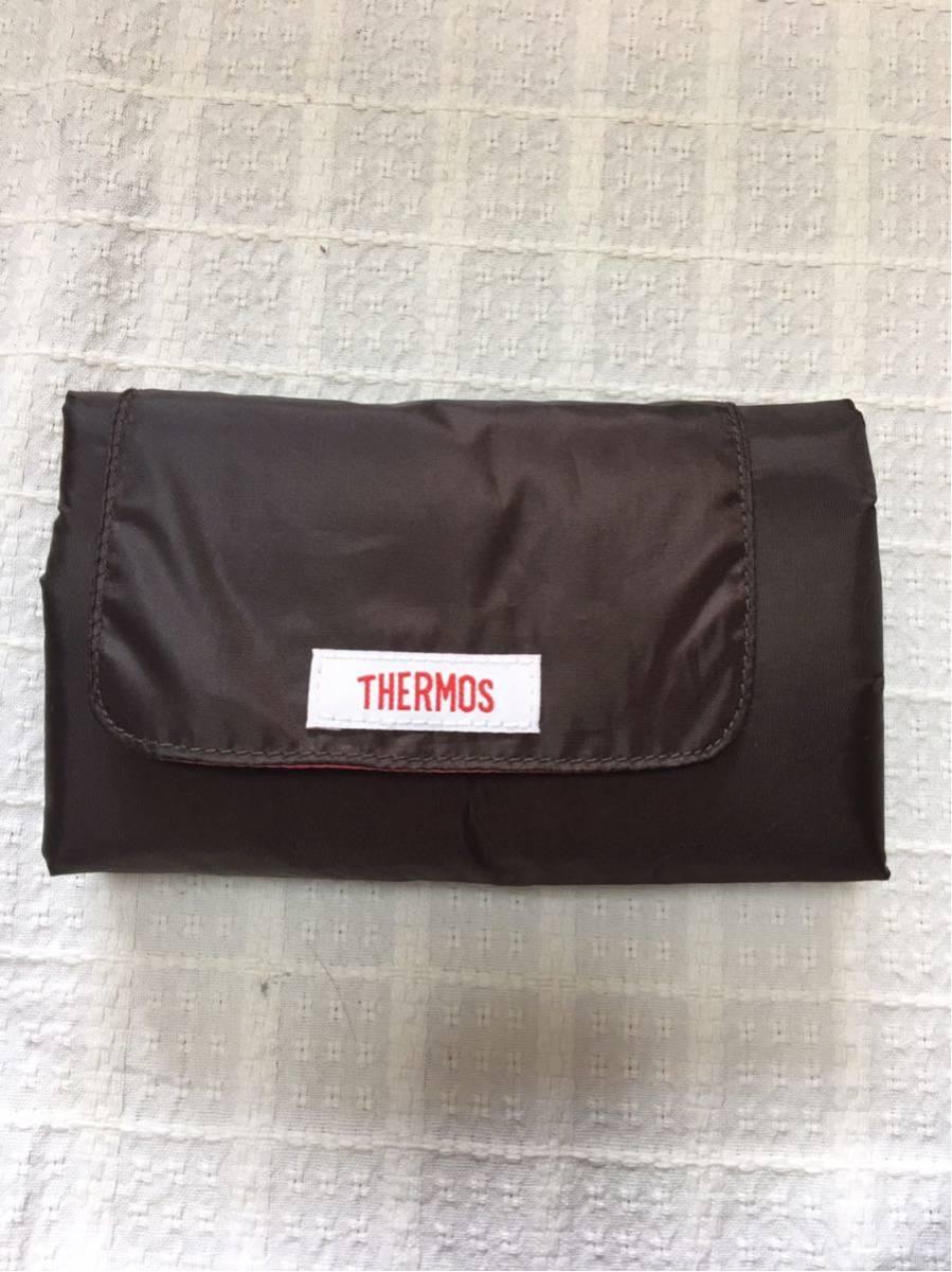【サーモス:THERMOS】保冷ショッピングバッグ・色:ブラウン、送料:クリックポスト185円_画像5