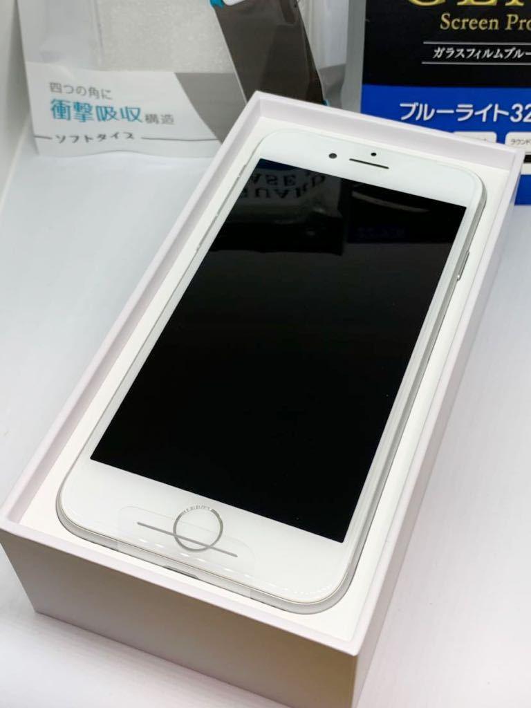 新品 未使用 Apple iPhone 8 Silver 64GB simフリー MQ792J/A ※ガラスフィルム カバー 付き_画像2