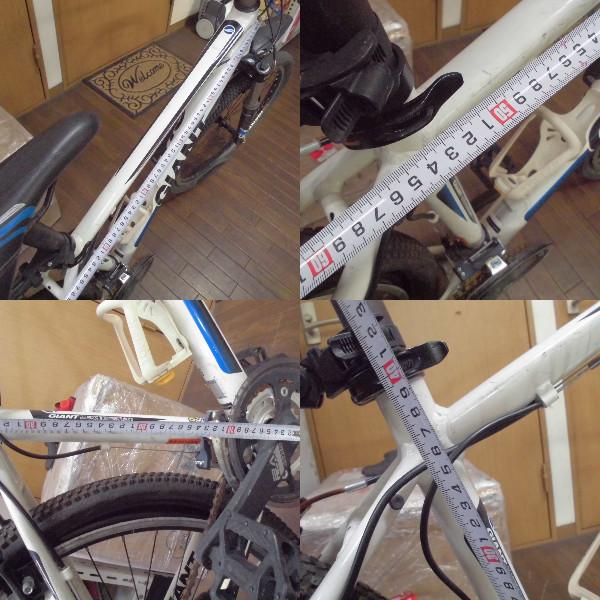 【I-366】GIANT☆ロードバイク クロスバイク☆ALUXX TECHNOLOGY☆ジャンク_画像7