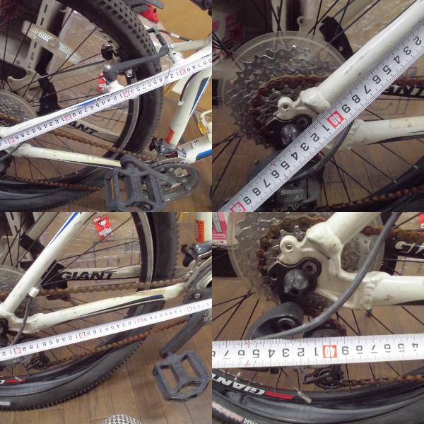 【I-366】GIANT☆ロードバイク クロスバイク☆ALUXX TECHNOLOGY☆ジャンク_画像8