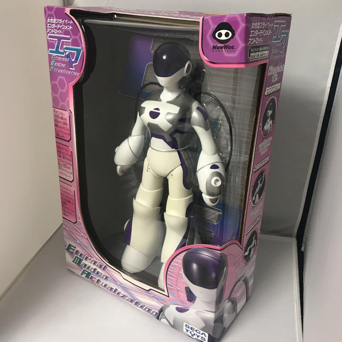 【未開封】セガトイズ エマ(E.M.A) 自律型女性ヒューマノイドロボット_画像2