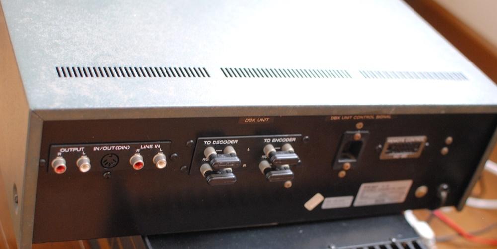 TEAC(テアック)3ヘッドカセットデッキC-3 中古品 _画像6
