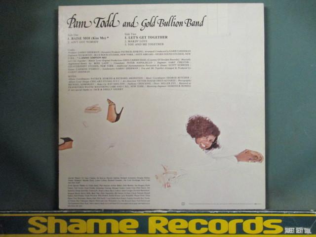 Pam Todd & Gold Bullion Band : Together LP // Garage Classics! Baise Moi (Kiss Me) / 5点で送料無料_画像2
