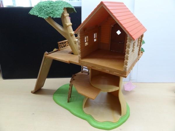 シルバニアファミリー にぎやかツリーハウス & キッチンセット & 2段ベッド_画像2