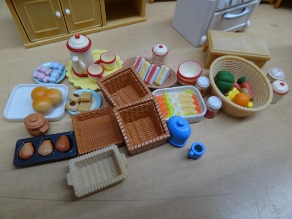 シルバニアファミリー にぎやかツリーハウス & キッチンセット & 2段ベッド_画像7