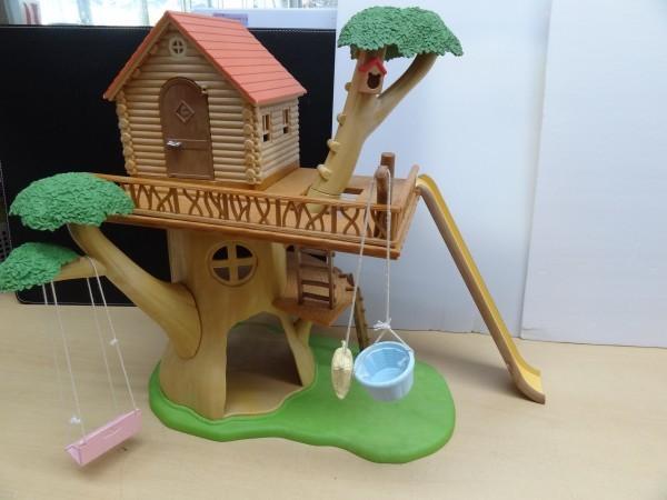シルバニアファミリー にぎやかツリーハウス & キッチンセット & 2段ベッド