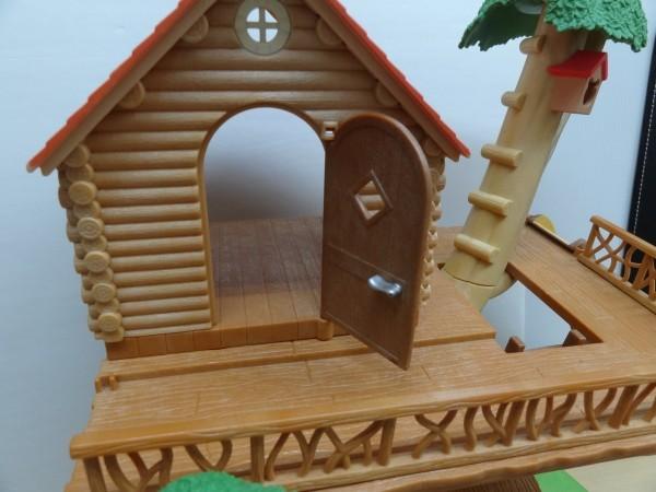 シルバニアファミリー にぎやかツリーハウス & キッチンセット & 2段ベッド_画像3