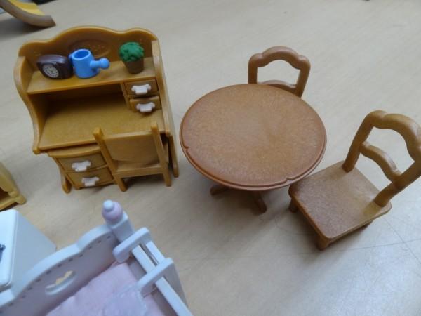シルバニアファミリー にぎやかツリーハウス & キッチンセット & 2段ベッド_画像8