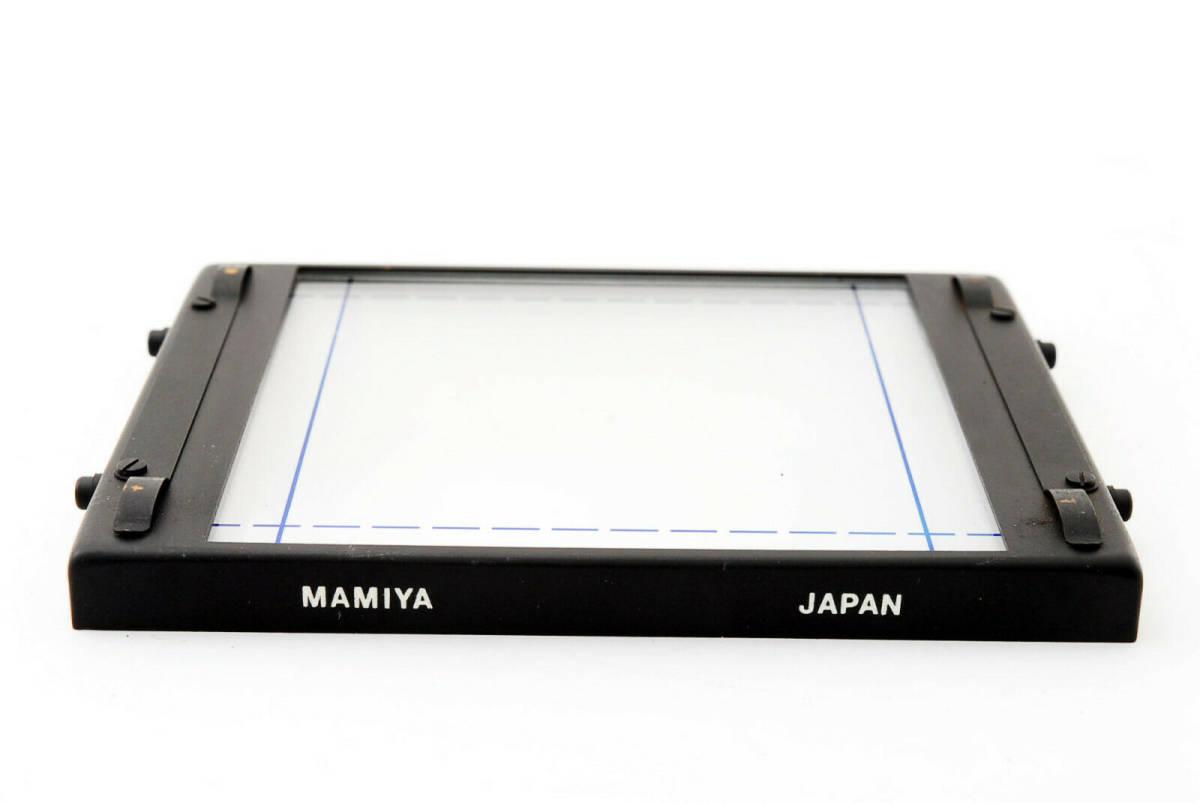 【即決 ほぼ未使用品 保障付 動作確認済 箱付】Mamiya Focusing Screen Type A4 For RB67 Pro, S, SD マミヤ スクリーン #418555_画像2