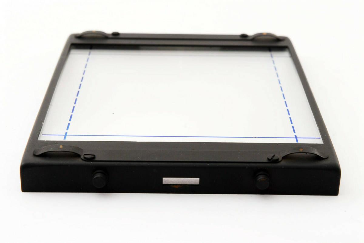 【即決 ほぼ未使用品 保障付 動作確認済 箱付】Mamiya Focusing Screen Type A4 For RB67 Pro, S, SD マミヤ スクリーン #418555_画像5