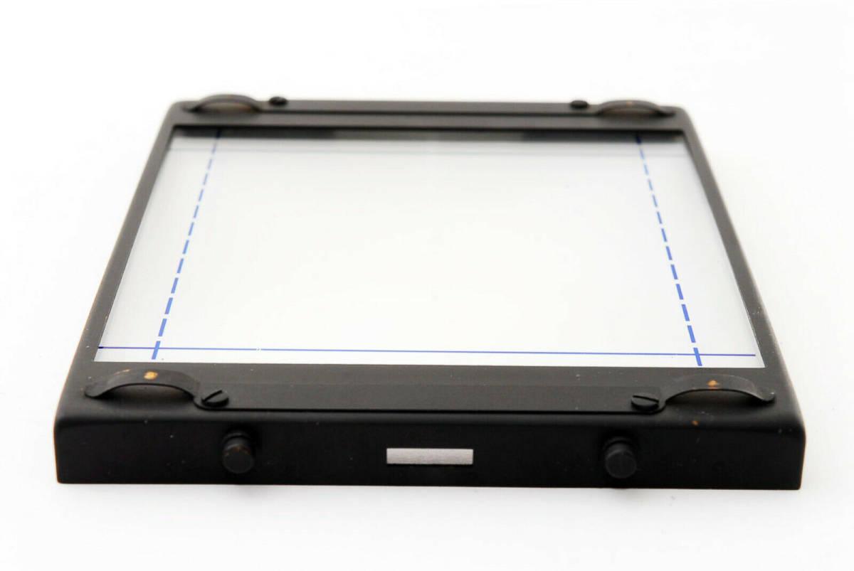【即決 ほぼ未使用品 保障付 動作確認済 箱付】Mamiya Focusing Screen Type A4 For RB67 Pro, S, SD マミヤ スクリーン #418555_画像3