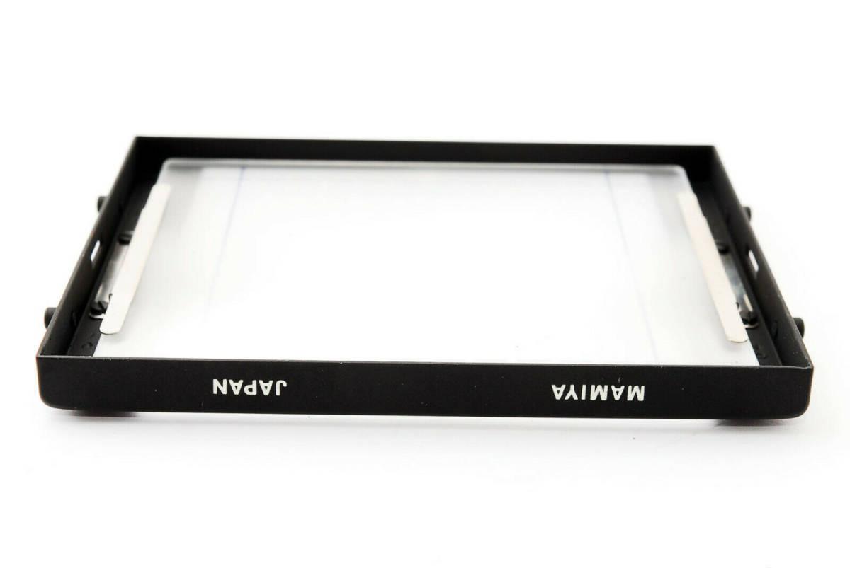 【即決 ほぼ未使用品 保障付 動作確認済 箱付】Mamiya Focusing Screen Type A4 For RB67 Pro, S, SD マミヤ スクリーン #418555_画像6