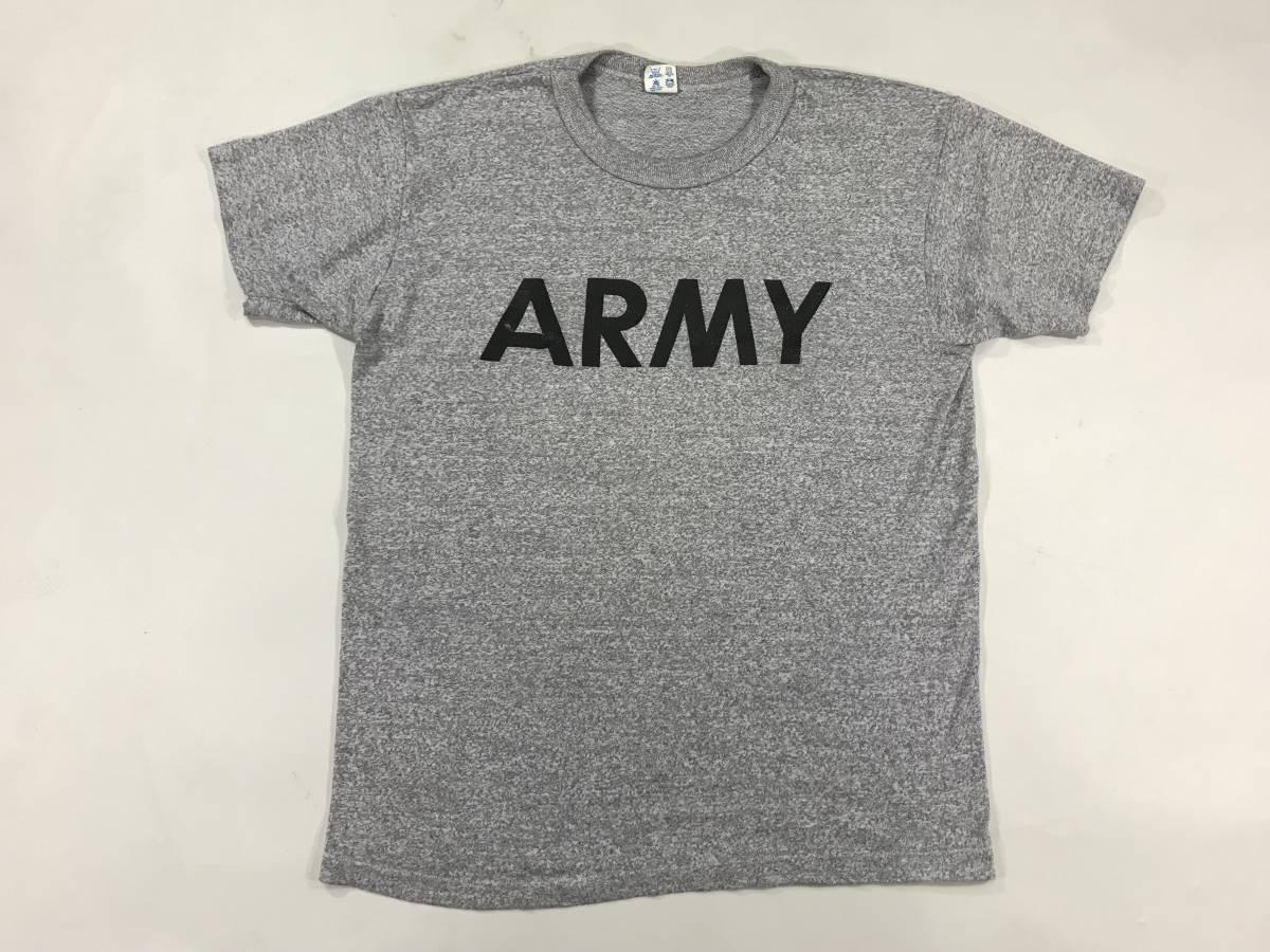 古着 15999 チャンピオン Mサイズ Tシャツ ARMY champion ビンテージ トリコロール オリジナル vintage USA コットン_画像1
