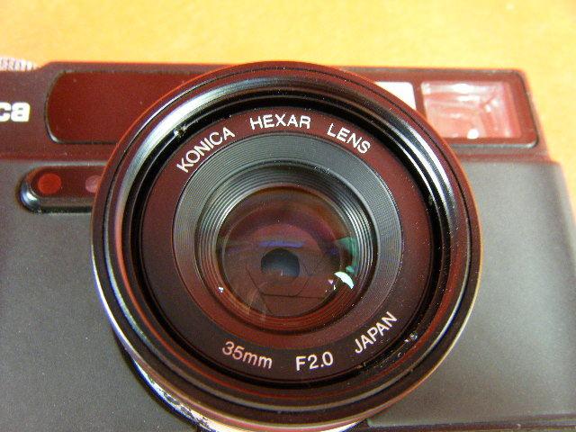 Aぬ48▲Konica HEXAR LENS 35mm F2.0 高級コニカ コンパクトカメラ_画像6