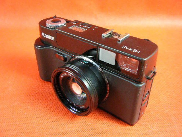 Aぬ48▲Konica HEXAR LENS 35mm F2.0 高級コニカ コンパクトカメラ_画像3