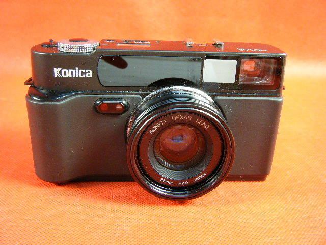 Aぬ48▲Konica HEXAR LENS 35mm F2.0 高級コニカ コンパクトカメラ_画像2
