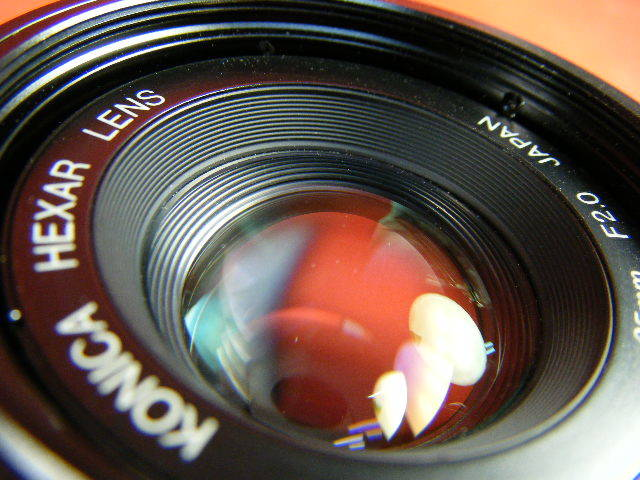 Aぬ48▲Konica HEXAR LENS 35mm F2.0 高級コニカ コンパクトカメラ_画像7