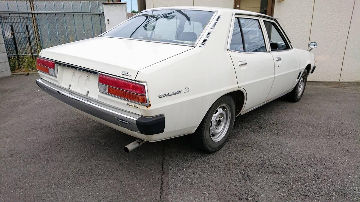 ギャランΣ A121A 1977年式 旧車 当時物 書類無し 部品取り 4G32 310335_画像2