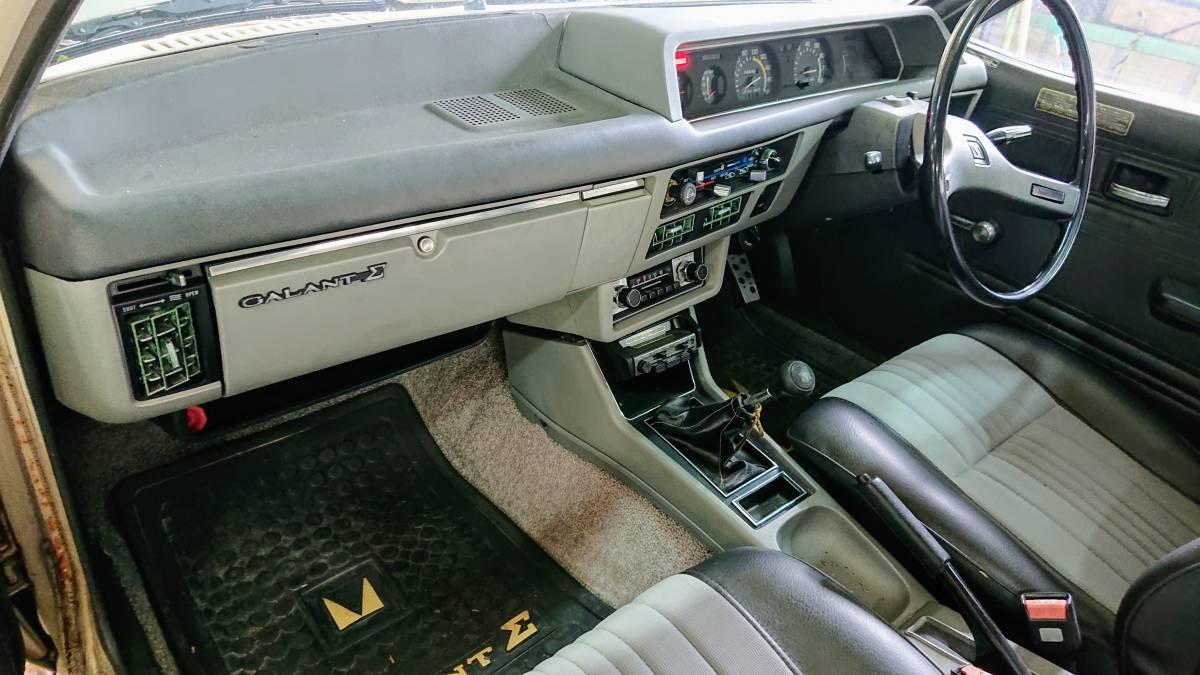 ギャランΣ A121A 1977年式 旧車 当時物 書類無し 部品取り 4G32 310335_画像4