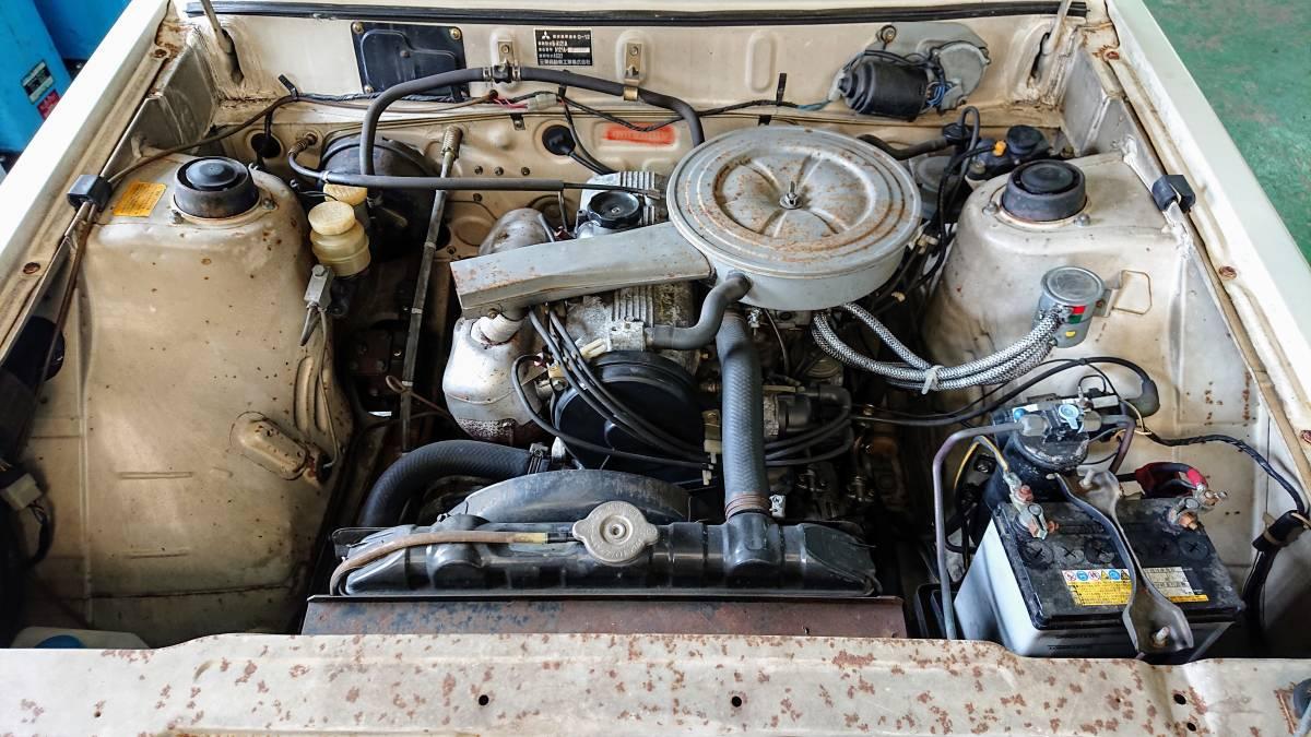 ギャランΣ A121A 1977年式 旧車 当時物 書類無し 部品取り 4G32 310335_画像3