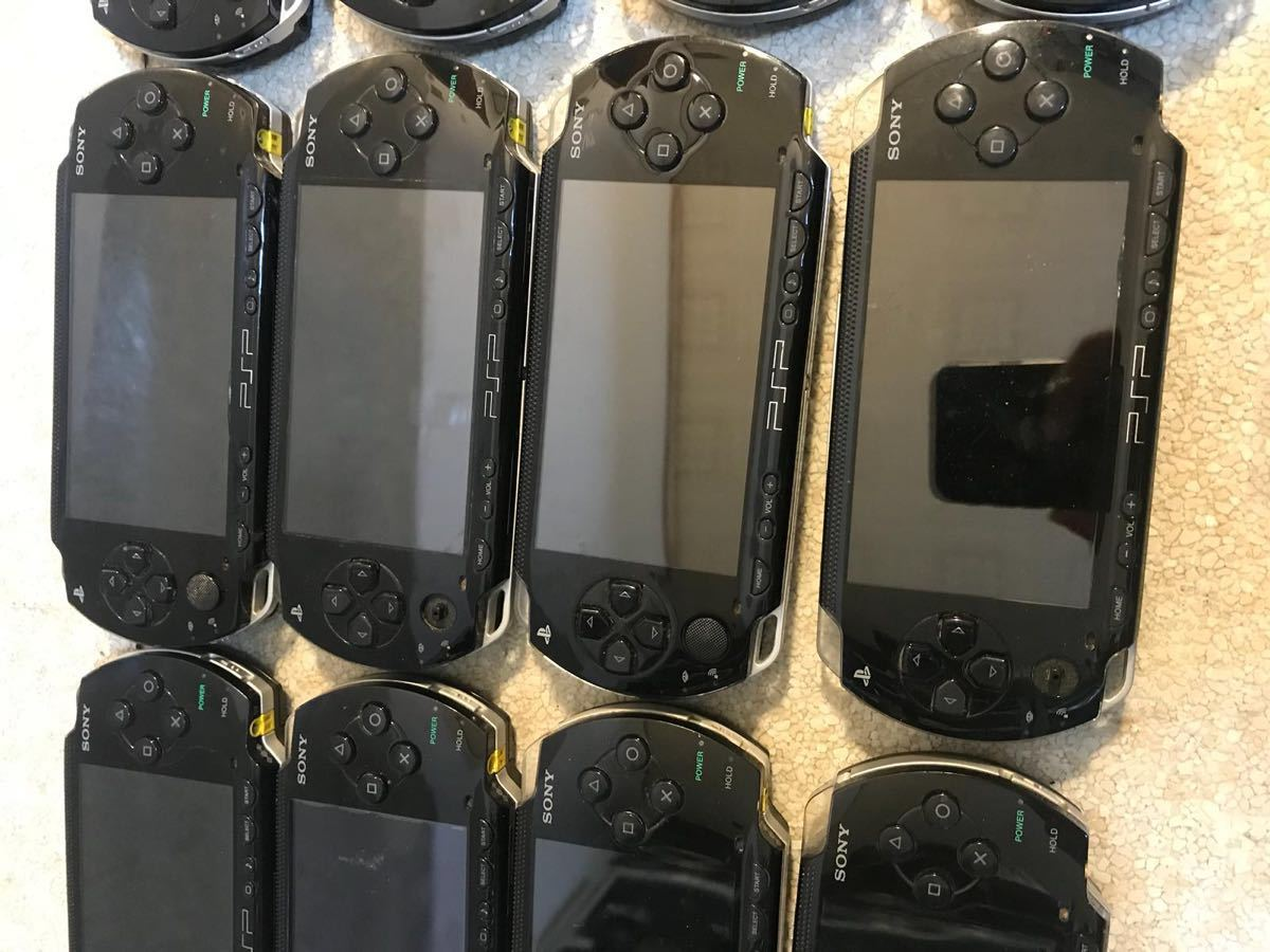 P1672. *SONY* PSP本体 、1000. 12台まとめセット!_画像6