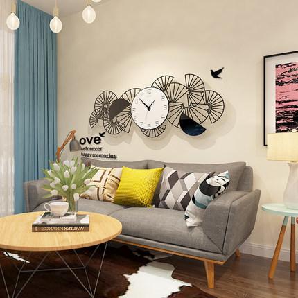 新作!壁掛け時計 リビングルーム ファッション時計 ヨーロッパ式 サイズ 74 x 29.5cm