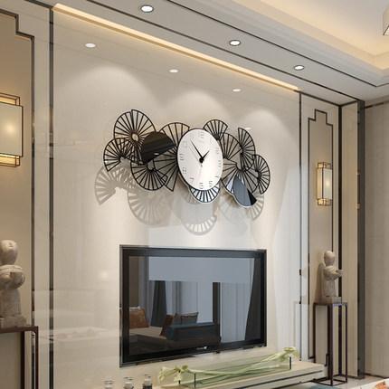 新作!壁掛け時計 リビングルーム ファッション時計 ヨーロッパ式 サイズ 74 x 29.5cm_画像3
