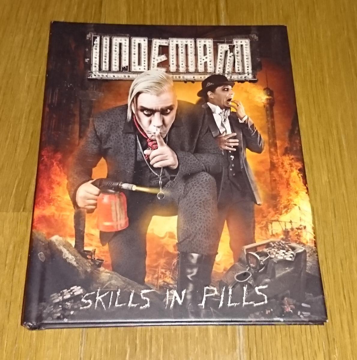 Lindemann Skills In Pills 限定28Pハードカバーブックレット ボーナストラック有り ラムシュタイン 極美品 メタル インダストリアル